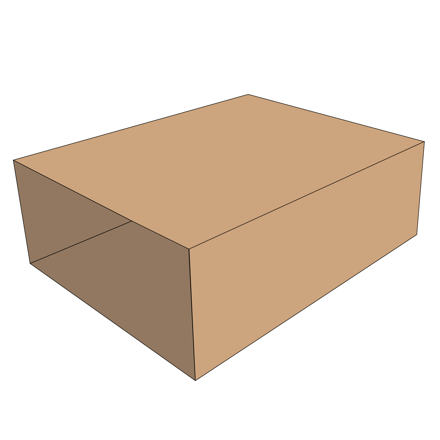 Craftpak Corrugated Box